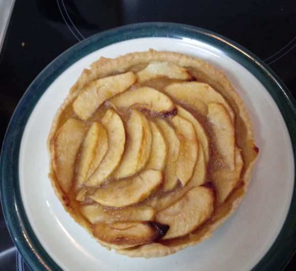 Tarta de Manzana sin azúcar que te endulza la vida