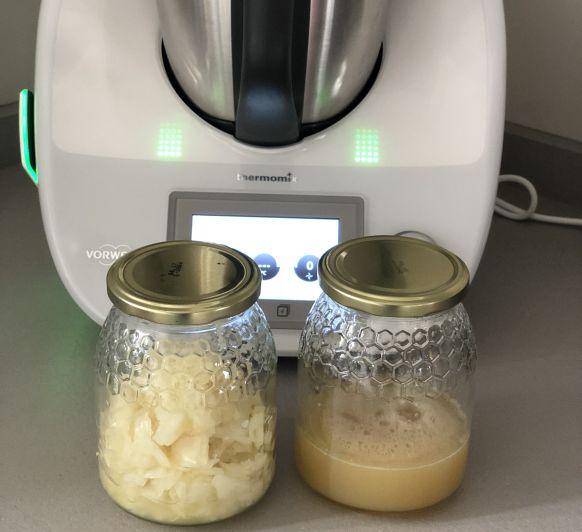 Jarabe de cebolla y ajo para la tos