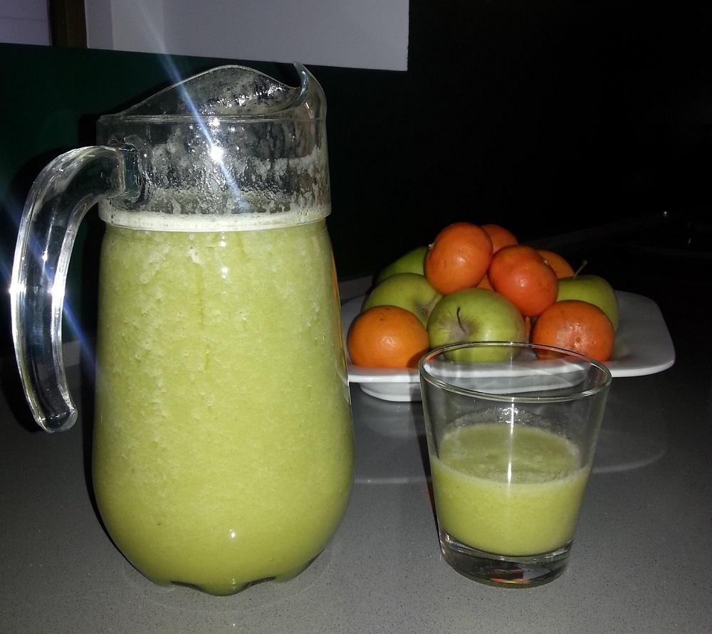 Green Smoothies (Batidos con hojas verdes)