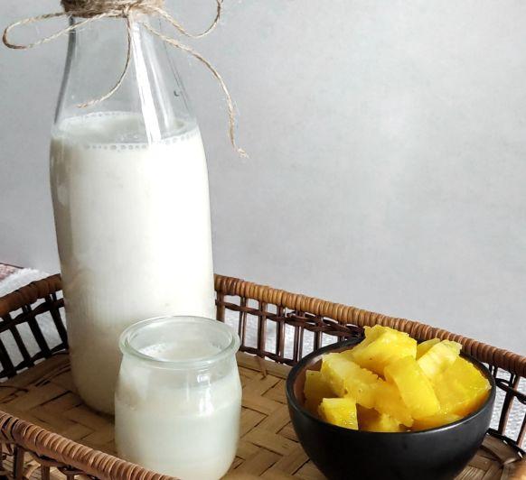Yogur bebible de fruta