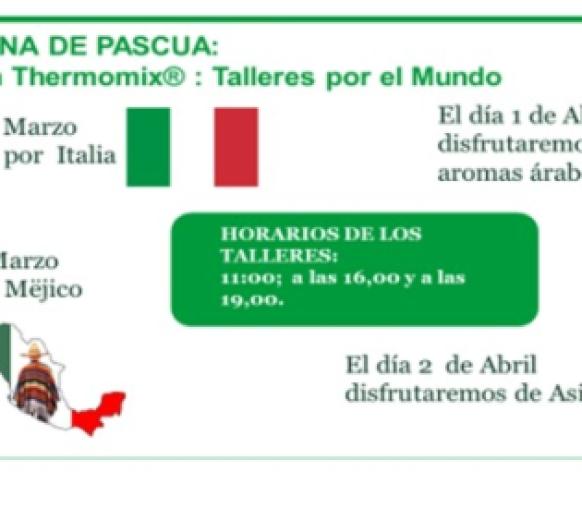 TALLERES DEL MUNDO EN Thermomix® PAMPLONA