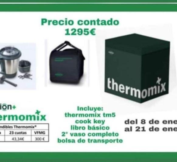 Ultima edicion de Thermomix® con facilidades de pago