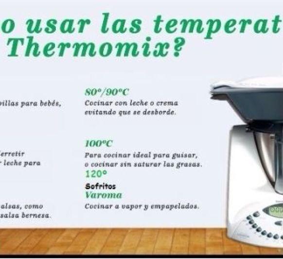¿Cómo utilizar las Temperaturas en tu Thermomix® ?