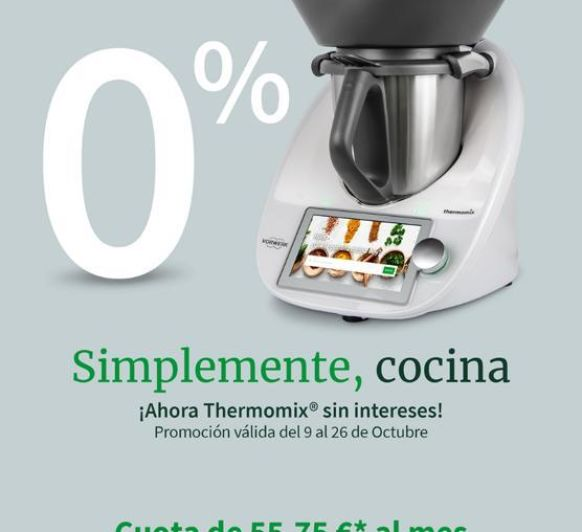 Thermomix® SIN INTERESES. 0%