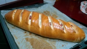 Pan relleno con Thermomix®